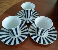 Отдается в дар Три кофейные чашки.