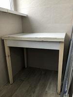 Отдается в дар кухонный стол и стулья