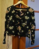 Отдается в дар Полупрозрачная блуза