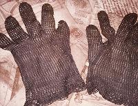 Отдается в дар Винтажные перчатки