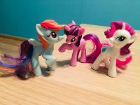 Отдается в дар My little pony 3 шт из Макдональдса