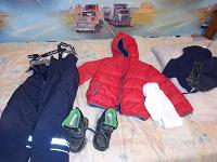 Отдается в дар Зимняя одежда и обувь для мальчиков 110-116,27 р.