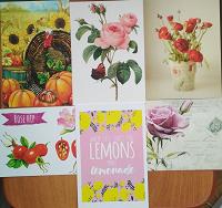 Отдается в дар Цветочные открытки