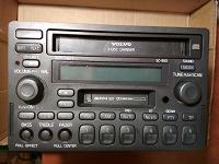 Отдается в дар АВТО Магнитола кассетная с СD 2 DIN Volvo-SC-900