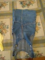 Отдается в дар Сарафан джинсовый