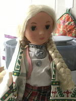 Отдается в дар Кукла из СССР 80-х гг. в литовском национальном костюме