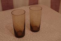 Отдается в дар 2 стакана тёмного цвета