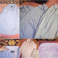 Отдается в дар Рубашки мужские и джинсовка