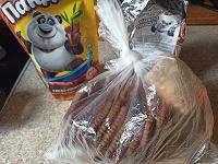 Отдается в дар Какао и печенье