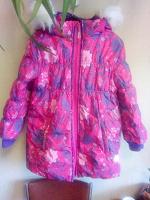 Отдается в дар Зимняя куртка для девочки 128 Barkito