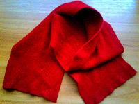 Отдается в дар Классный красный шарфик