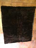 Отдается в дар Меховой ковер цигейка