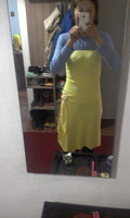 Отдается в дар Летнее. Платье с открытыми плечами