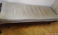 Отдается в дар Мебель, кровать 1-спальная, бу, периода СССР