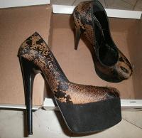 Отдается в дар Шикарные туфли для соблазнительницы:)