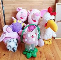 Отдается в дар Детские мягкие игрушки