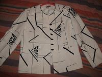 Отдается в дар Жакет женский 52р. и блуза трикотажная