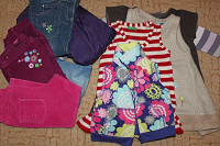 Отдается в дар пакет детской одежды