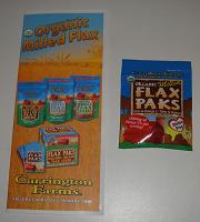 Отдается в дар Organic Milled Flax Paks