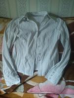 Отдается в дар Рубашка в полоску