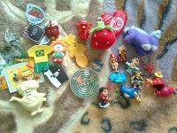 Отдается в дар Игрушки и магниты на холодильник