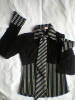 Отдается в дар Блузка с галстуком (передар от barneos)