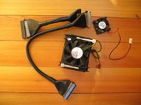 Отдается в дар IDE-кабель, кулер, вентилятор
