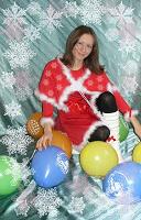 Отдается в дар Новогоднее платьюшко )