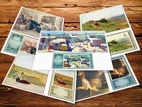 Отдается в дар Карт-максимумы цифровые «Отечественная живопись 1980»