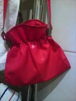 Отдается в дар Красная сумочка-мешочек