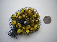 Отдается в дар Марблс, желтые с разводами шарики