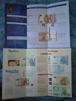 Отдается в дар Брошюры про банкноты, карточки-переливашки, плакаты