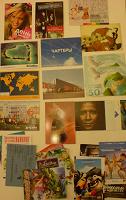 Отдается в дар стопочка открыток в коллекцию
