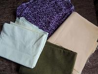 Отдается в дар Материалы для шитья
