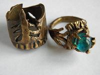 Отдается в дар 2 кольца начинающего ювелира