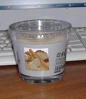 Отдается в дар свеча ванильная
