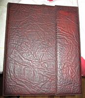 Отдается в дар Папка для бумаг и визитница-телефонная книга