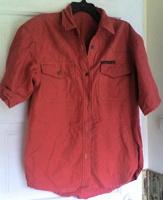 Отдается в дар Рубашка джинсовая женская