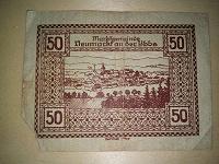 Отдается в дар Австро-Венгрии 50 геллеров 1920