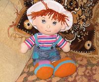 Отдается в дар Куклёныш тряпичный