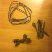 Отдается в дар Кабели телефон-компьютер для Sony Ericsson — 3 шт