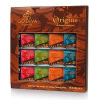 Отдается в дар Набор шоколада Godiva 48 origin chocolates