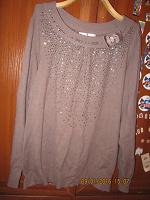 Отдается в дар Кофта-свитер женский на 48-50 размер.
