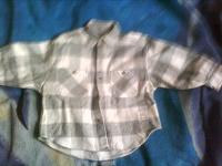 Отдается в дар Рубашечка детская байковая.