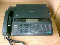 Отдается в дар телефон-факс Panasonic KX-F130