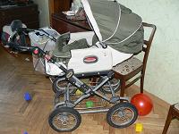 Отдается в дар коляска-трансформер Geoby 703J