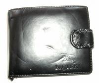 Отдается в дар Бумажник черный