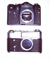 Отдается в дар Два советских фотоаппарата
