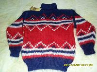 Отдается в дар Теплый мохеровый свитер на 10-11 лет
