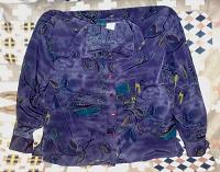 Отдается в дар Рубашка шёлковая женская